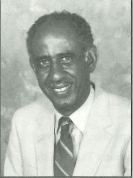 An older photo of Dr. Otis Tillman in a sport coat.