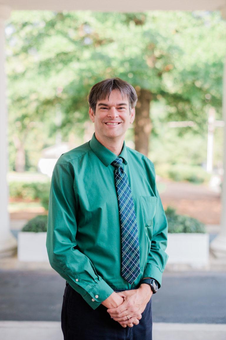 John Anderson, teacher at Southwest Middle School.